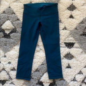 Lululemon size 6 reversible leggings! Worn once!